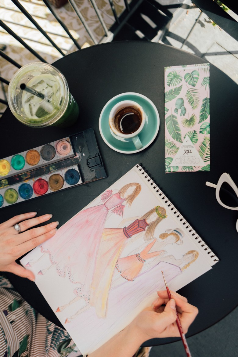 Arielle Worona of RELish By Arielle shares her original watercolor illustrations