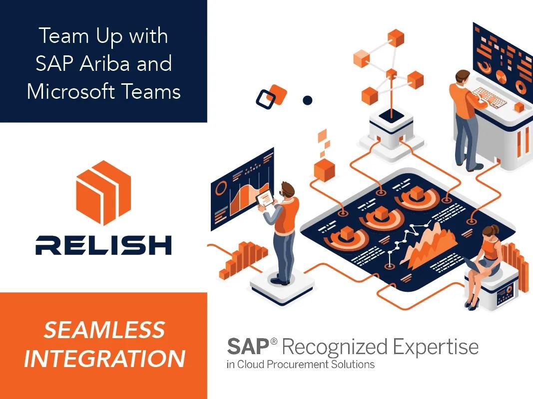 Relish CONNECT: Team Up with SAP Ariba and Microsoft Teams
