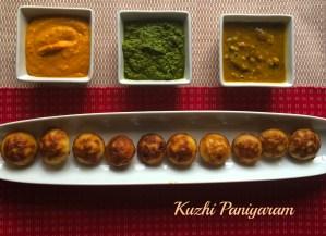 Masala Spicy Kuzhi Paniyaram
