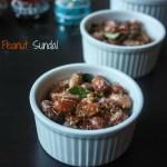 Verkadalai Sundal/Peanut snack