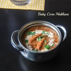 Baby Corn Makhani