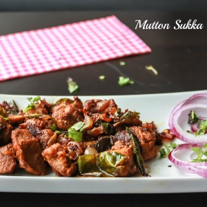 Mutton Sukka / Goat Curry