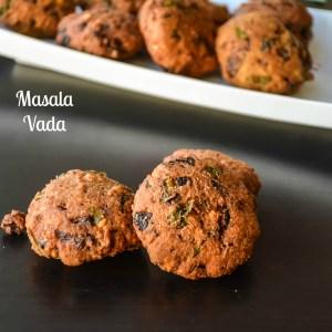 Masal Vadai/ Masala Vada/ Paruppu Vada recipe: