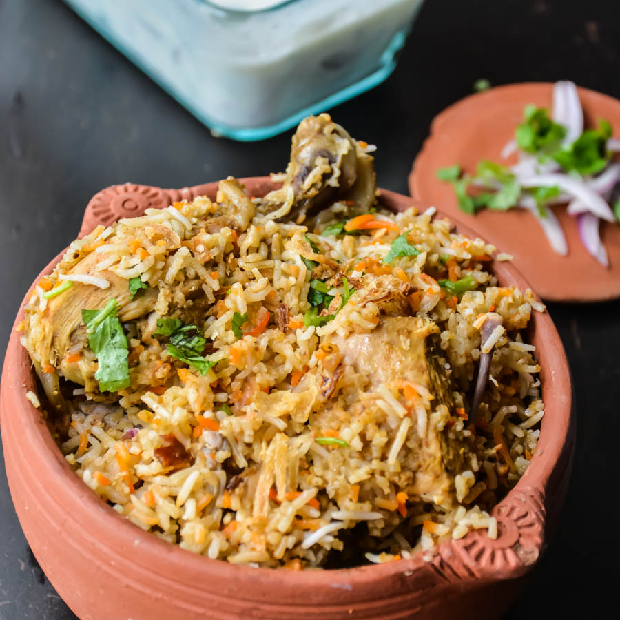 Chicken biryani homestyle relish the bite for Chicken biryani at home