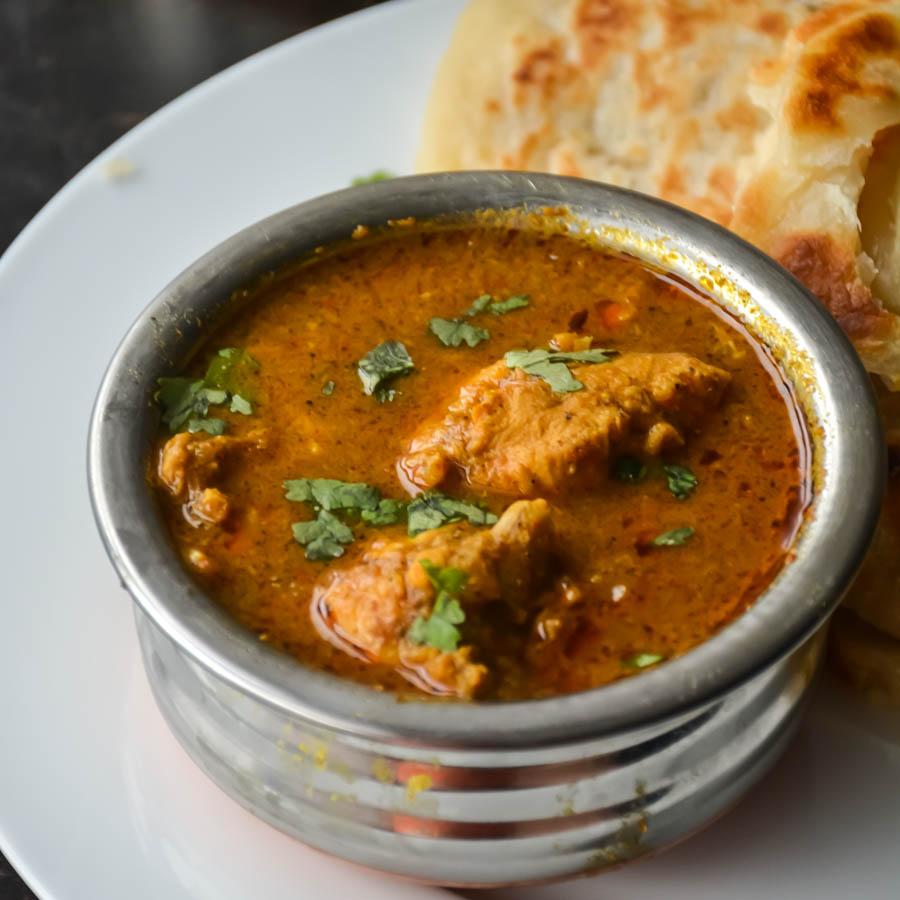 ChickenKurmaParotta