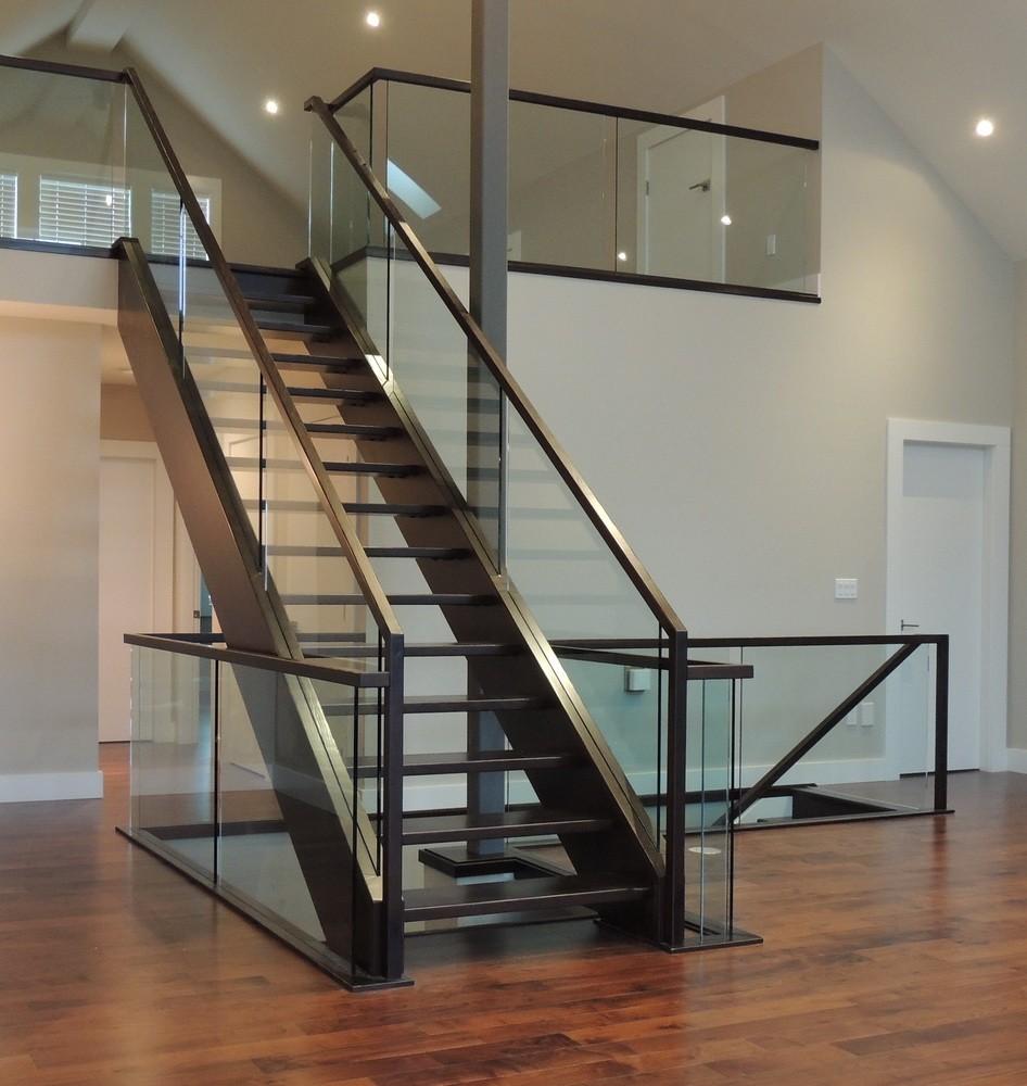 interior glass railing calgary