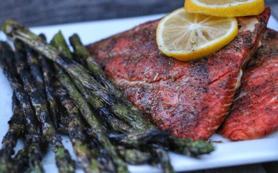 FULLY LOADED Grilled Salmon