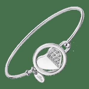 Brazalete Corazón Acero lotus style