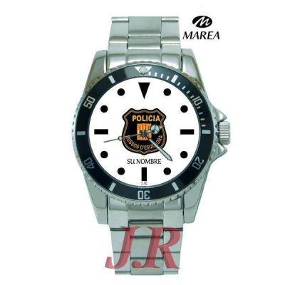Reloj mossos d'quadra JR E4-Relojes-personalizados-E4