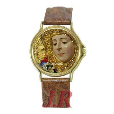 Reloj Virgen del Rocío Hombre E1-relojes-personalizados
