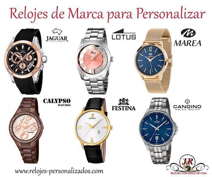 Reloj personalizado de marca
