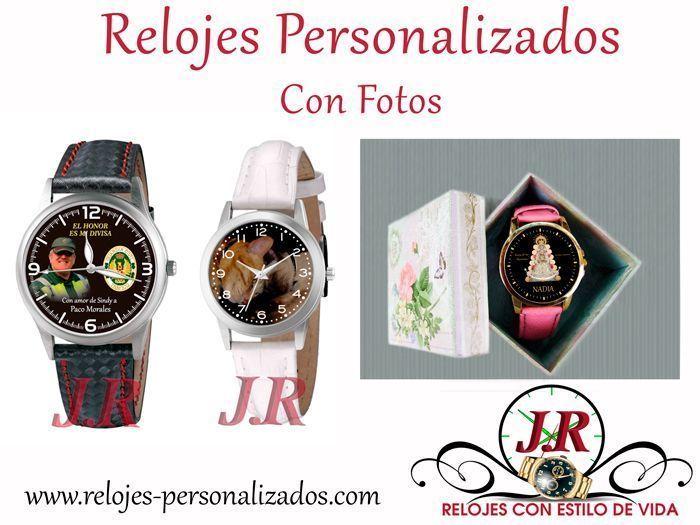 Reloj personalizado con foto