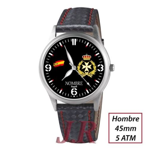 Reloj Fuerzas Armadas Sanidad Militar M3-relojes-personalizados-JR