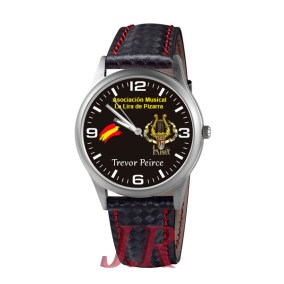 Reloj-ASOCIACION-MUSICAL-LA-LIRA DE-PIZARRA -relojes-personalizados-jr