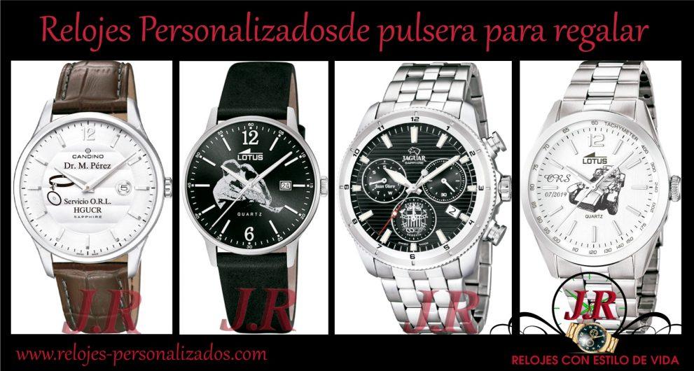relojes personalizados de pulsera