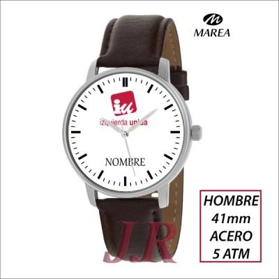Reloj-Izquierda-Unida-relojes-jr