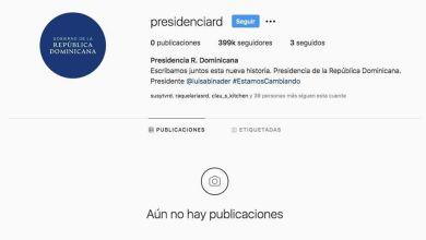 Photo of «Limpian» las cuentas de redes sociales de la Presidencia de la República.