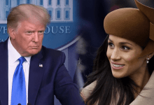 "Photo of Trump dice que no es ""muy fan"" de Meghan Markle"