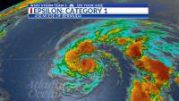 Photo of Tormenta Epsilon se fortalece en un huracán de categoría 1