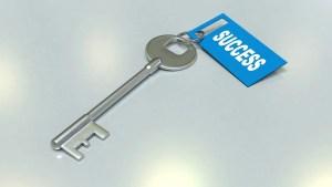 key written success