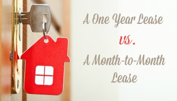 Pros and Cons of a Month to Month Lease - The Reluctant Landlord
