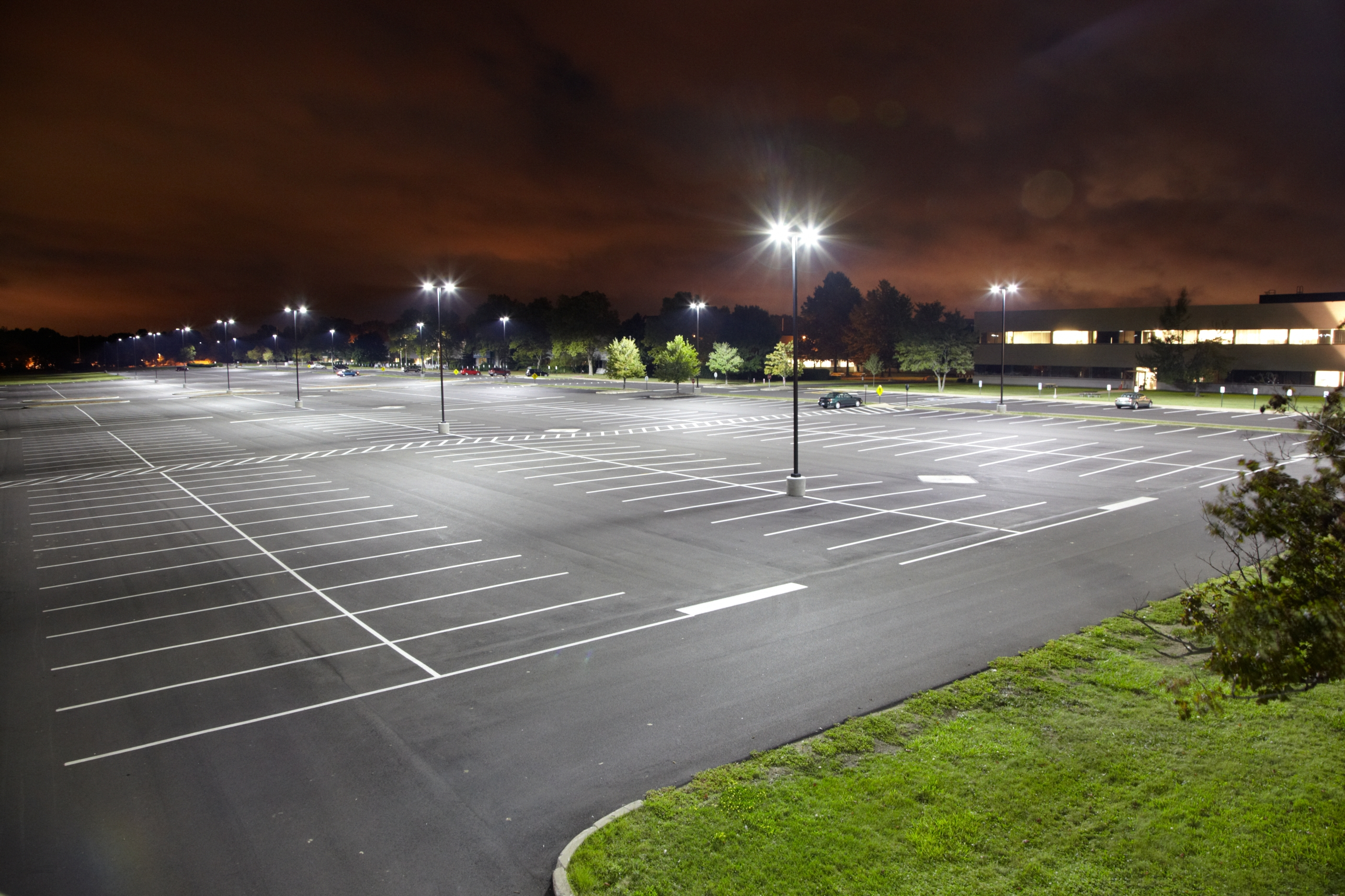 Parking Lot Lighting Don T Leave Customers In The Dark