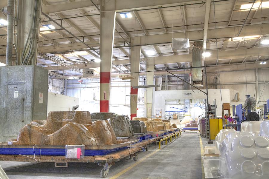 Lighting Case Study: Maax Spas Manufacturing | Relumination