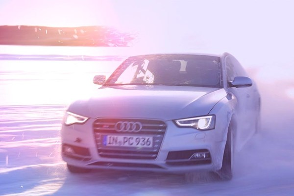 Audi Ice Experience Event Dokumentation