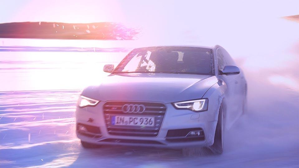 Audi Ice Experience Event Dokumentation