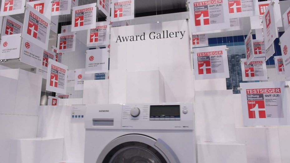 Dokumentation Siemens Messeauftritt - Awards