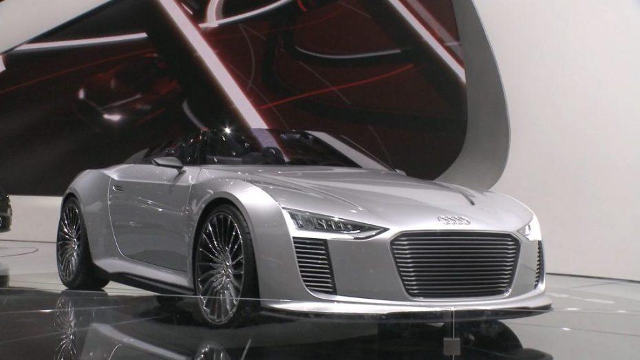 Audi e-tron spyder Concept car