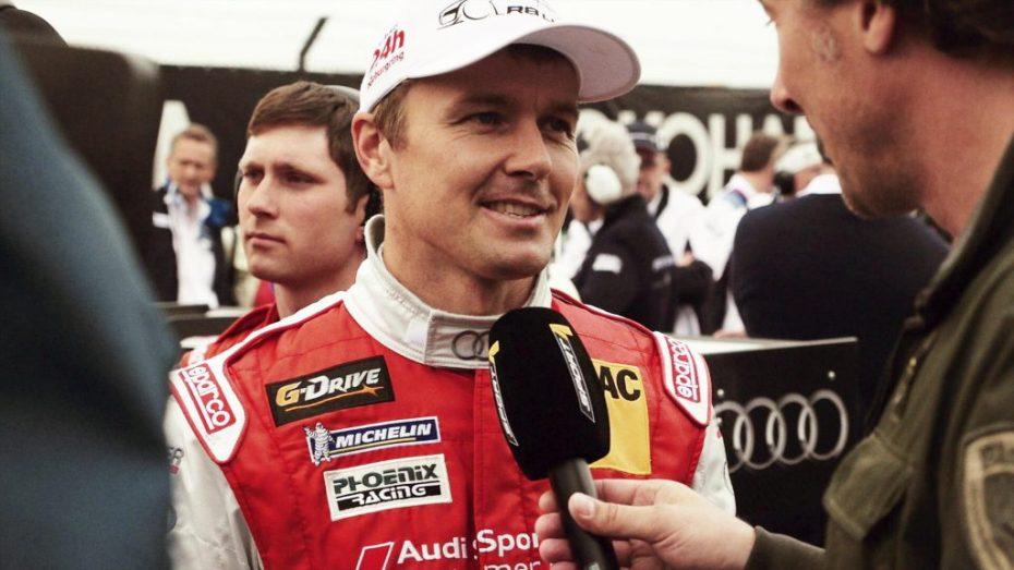 Audi race experience Fahrer Mattias Ekstrom