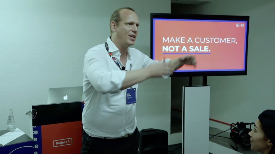 Make a customer, not a sale!