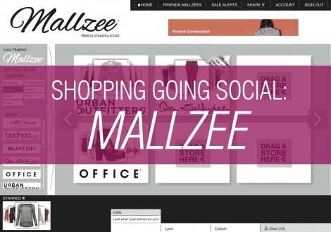 Shopping Going Social: Mallzee.com