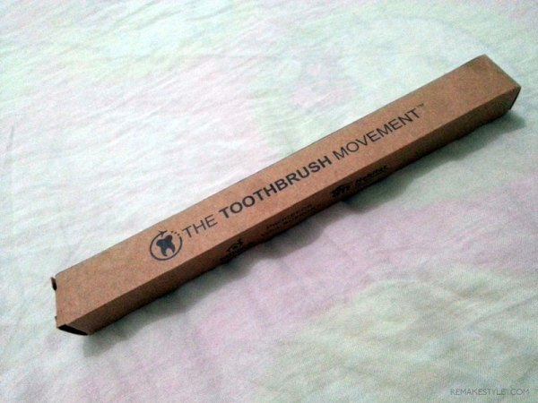 The Toothbrush Movement Bamboo Toothbrush by Minka