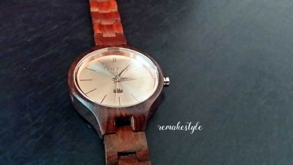 A Watch Made of Wood: Tempus Elenor Wood Watch Review