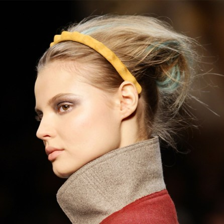 Jennifer Behr for Fendi dinosaur headband, FW2011
