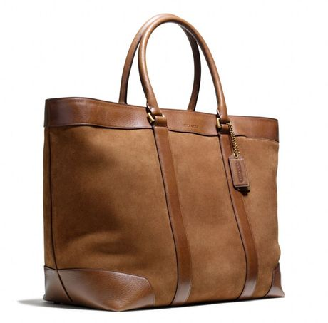 Coach Silverfawn Bleecker Weekend Tote