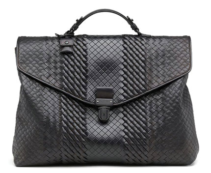 Bottega Veneta Intreccio heirloom brief