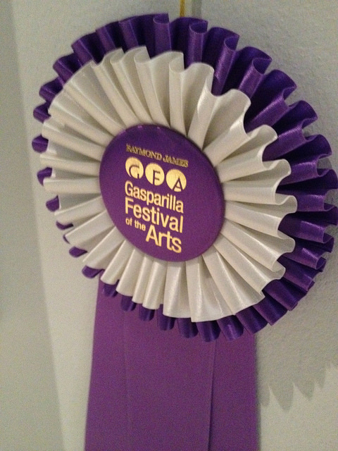 Awards ribbon, highly coveted
