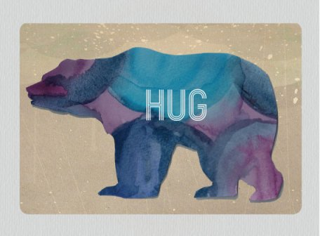 Love this bear hug card