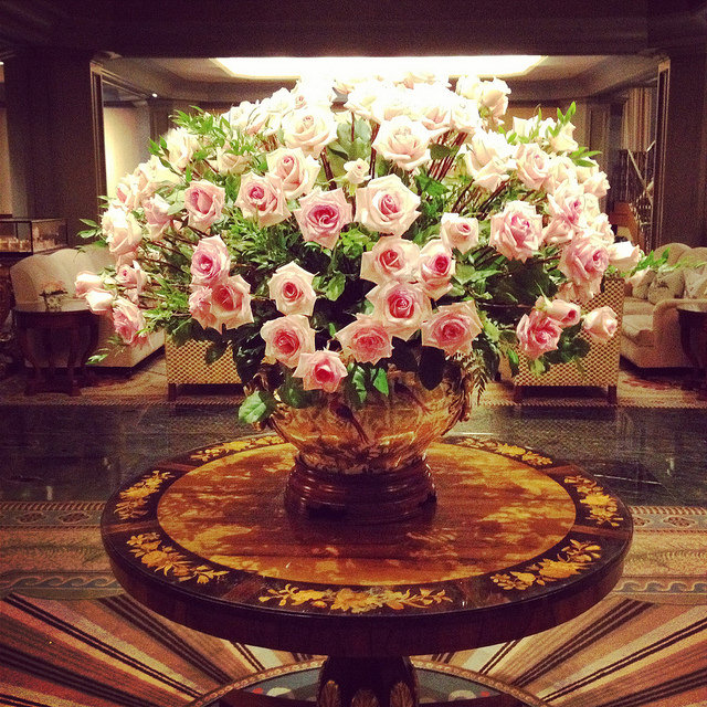 Florals at the Windsor Court