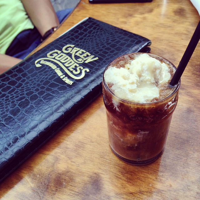 One worthwhile alcoholic treat: the New Orleans Snoball