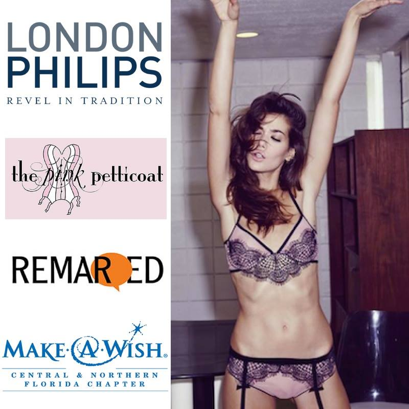 An exclusive collaboration between London Philips, The Pink Petticoat, Remarqed, and Suncoast Make-A-Wish Foundation. Look for your invite...