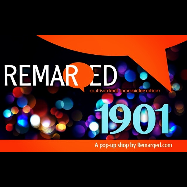 1901: the pop up shop by Remarqed.com