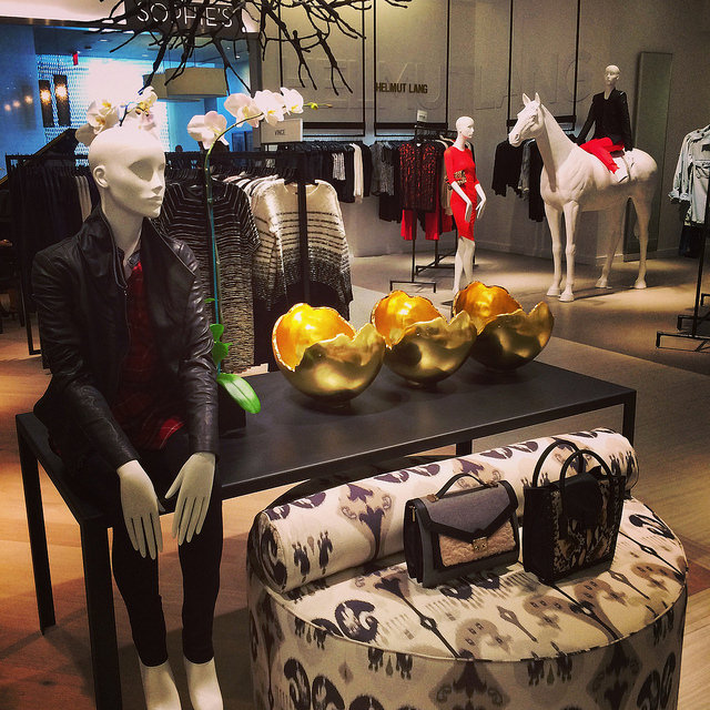 Women's contemporary at Saks Fifth Avenue Sarasota