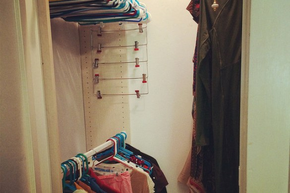 Emily's closet, post purge