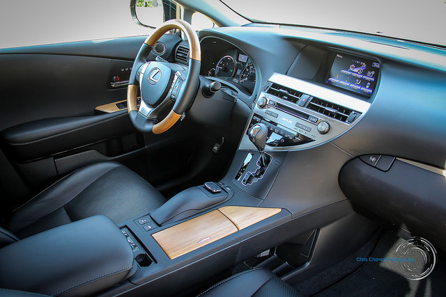 The Lexus RX450h interior by Chris Chavez on Flickr