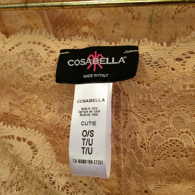 Cosabella intimates & lingerie, made in Italy