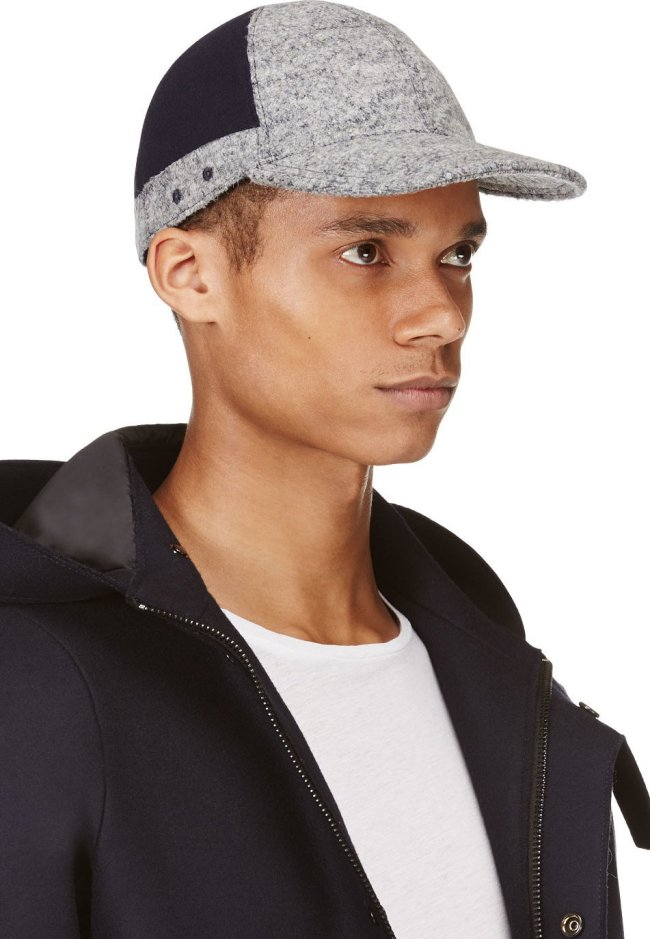 Kenzo wool colorblocked baseball cap, from SSENSE